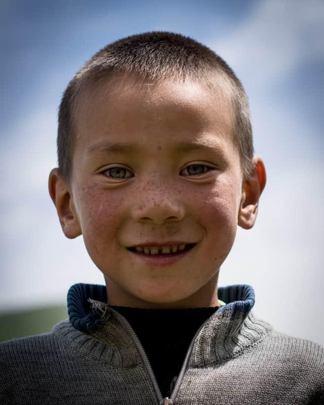 Piste vers Kol Su toyota Explore Kirghi