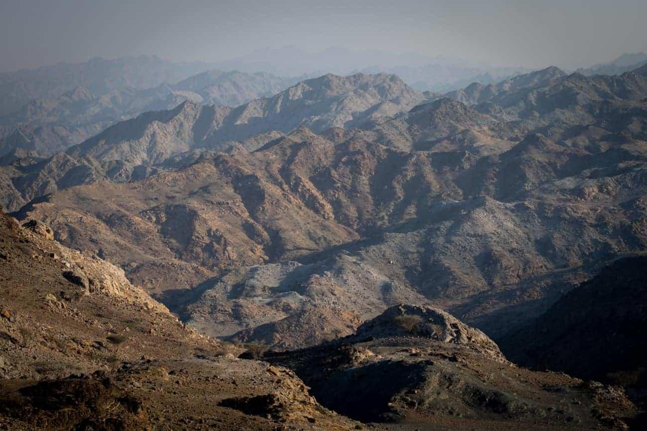 montagne UAE infinie