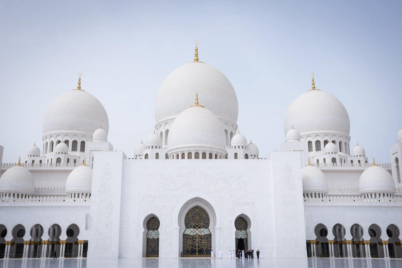 Mosquee Cheikh Zayed UAE blanche