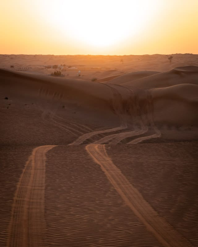 piste oman off road 1001 nights