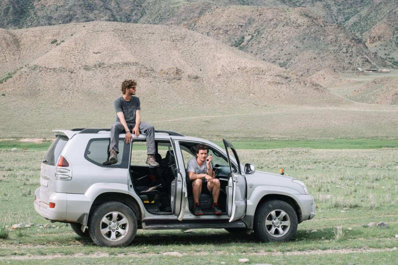4x4 de location pour voyager au Kirghizistan