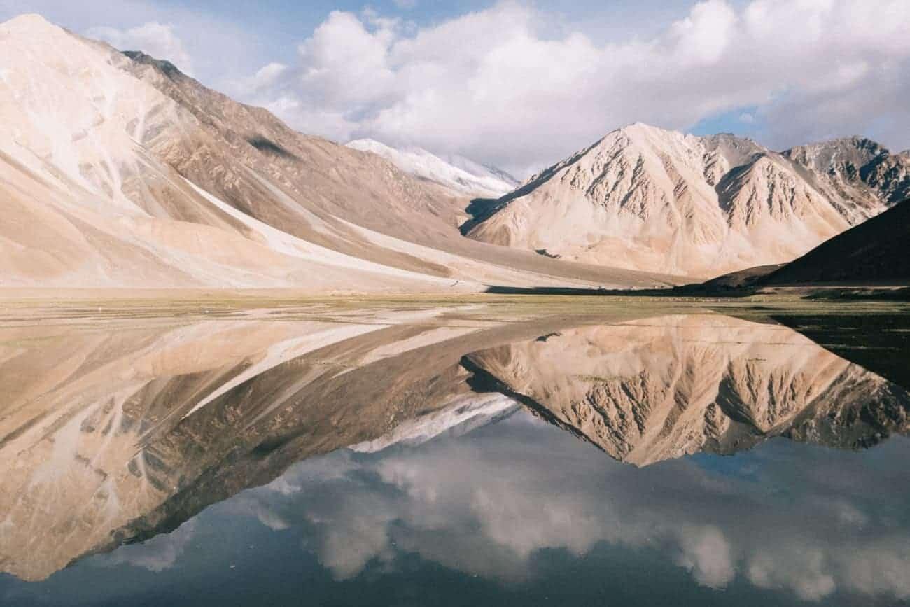 Le plus beau lac du Ladakh Pangong