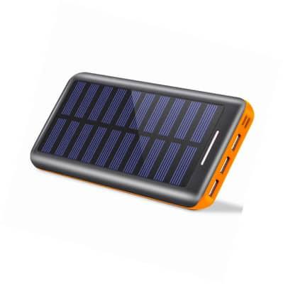 notre batterie solaire externe pour road trip