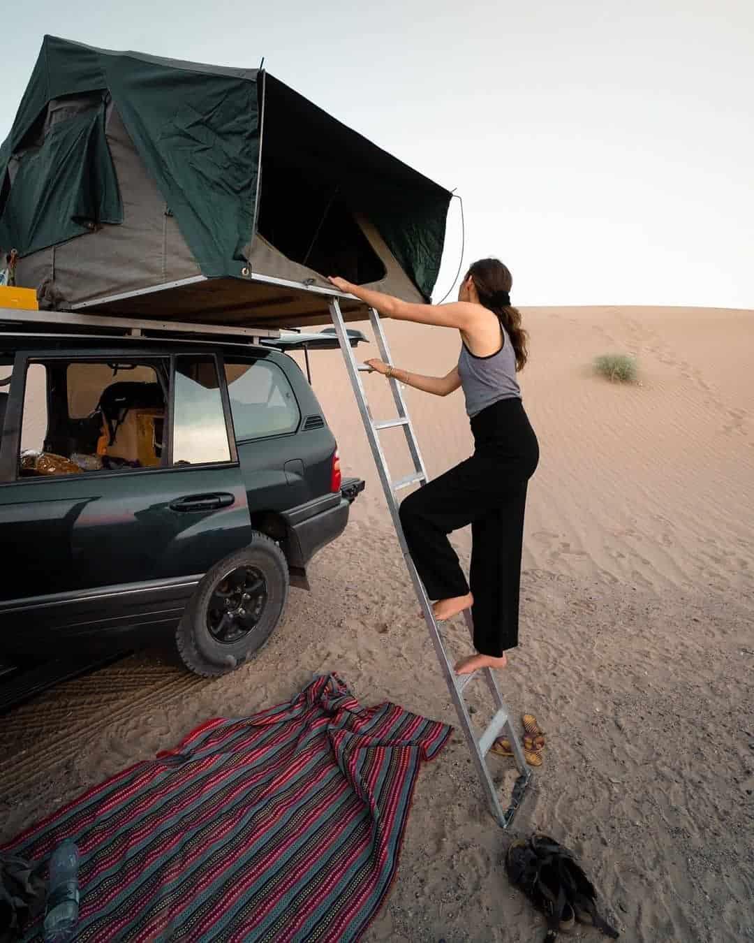 4x4 tente de toit souple