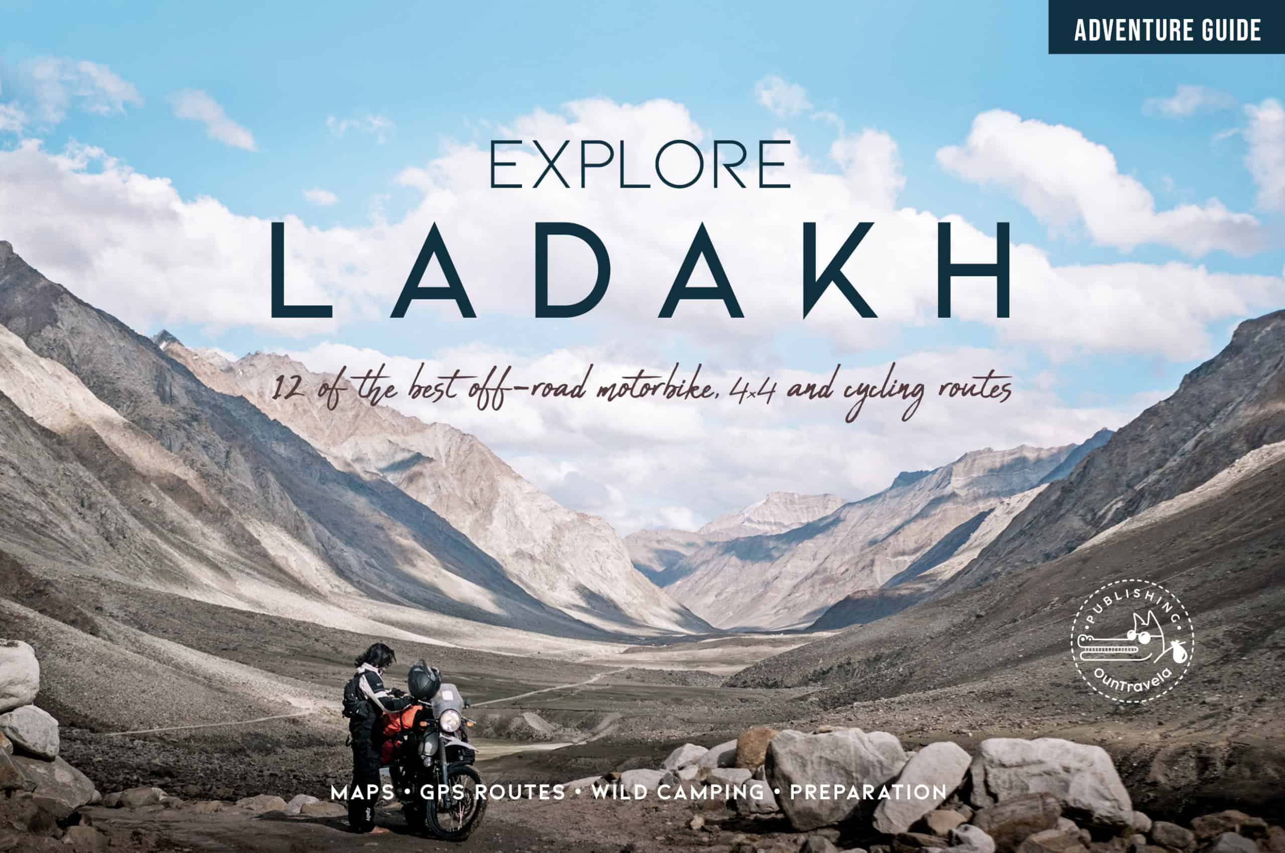 best off-road routes ladakh india