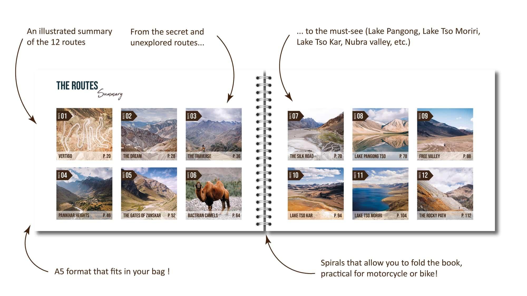 road book ladakh india